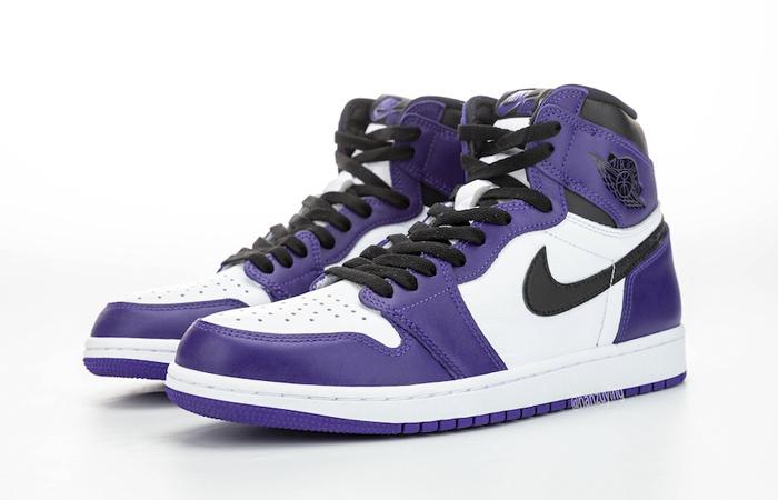 Nike Air Jordan 1 Purple 555088-500 05