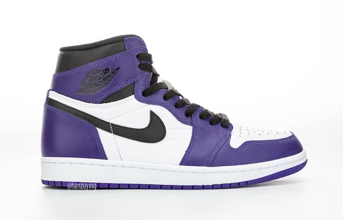Nike Air Jordan 1 Purple 555088-500 06