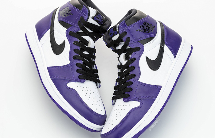 Nike Air Jordan 1 Purple 555088-500 07