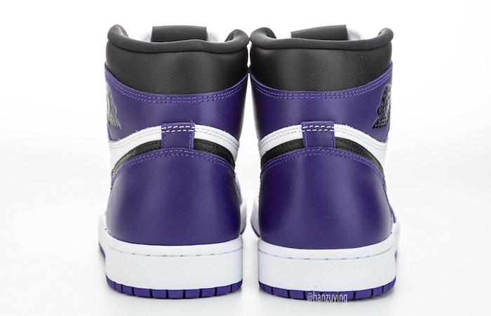 Nike Air Jordan 1 Purple 555088-500 08
