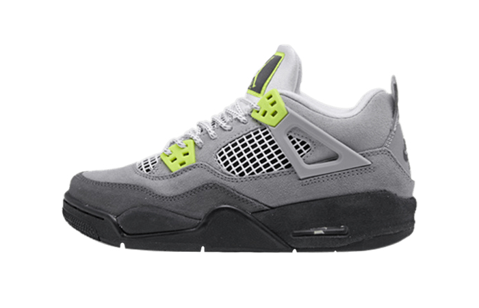 Nike Air Jordan 4 Retro LE Neon Grey CT5342-007 01