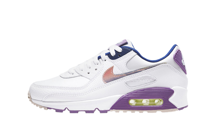 Nike Air Max 90 Easter Purple White CJ0623-100 01