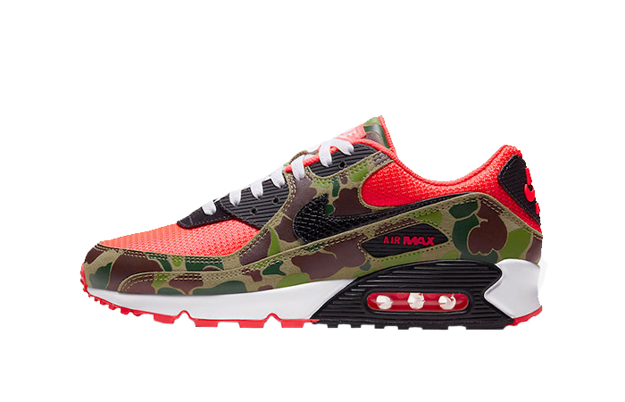Nike Air Max 90 Reverse Duck Camo Red CW6024-600 01