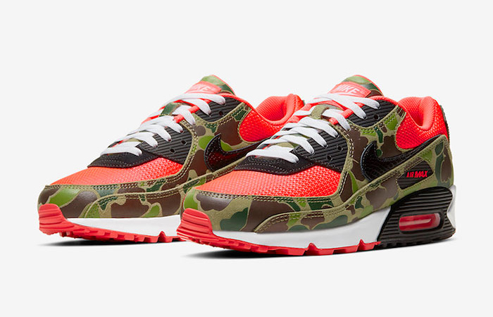 Nike Air Max 90 Reverse Duck Camo Red CW6024-600 02