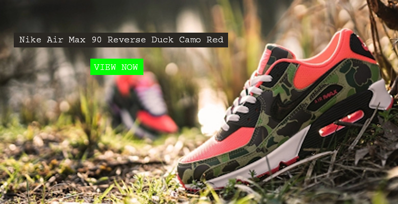 Nike Air Max 90 Reverse Duck Camo Red CW6024-600