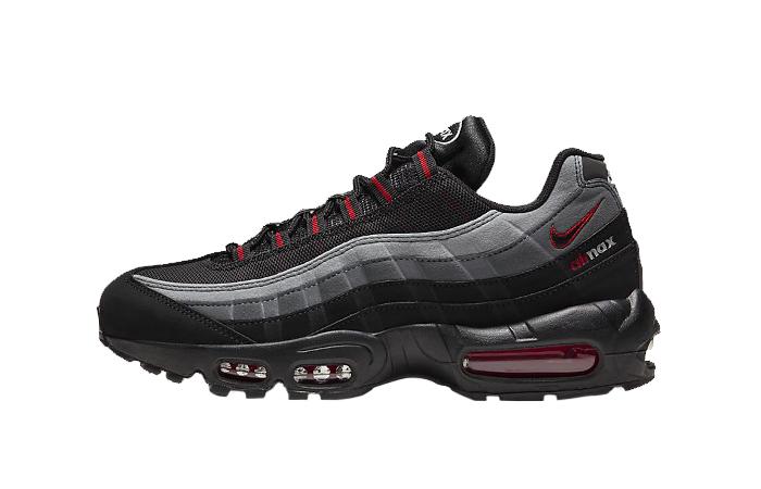 Nike Air Max 95 Black University Red CW7477-001 01