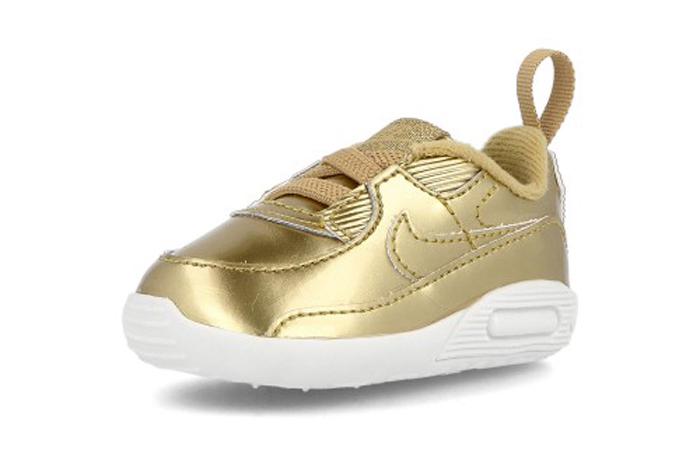 Nike Max 90 Crib QS Metalic Gold CV2397-700 02