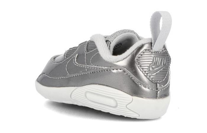 Nike Max 90 Crib QS Metalic Silver CV2397-001 05