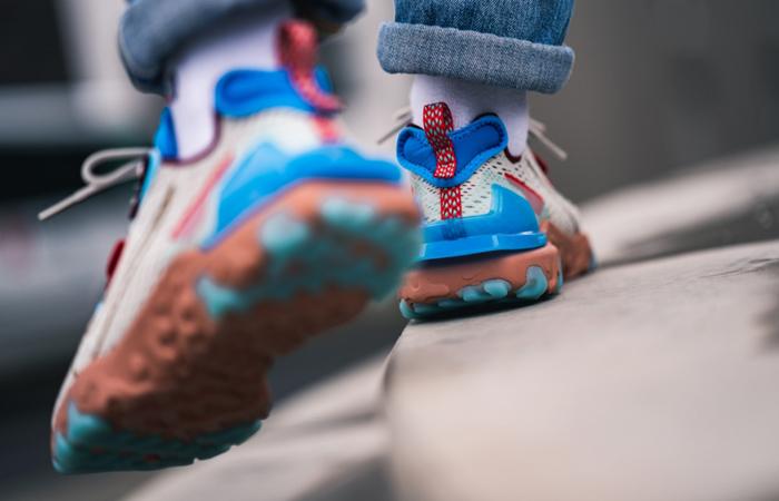 Nike React Vision Desert Oasis White CD4373-001 on foot 03