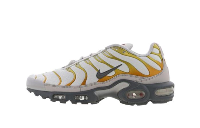 Nike TN Air Max Plus White Golden CI3715-100 01