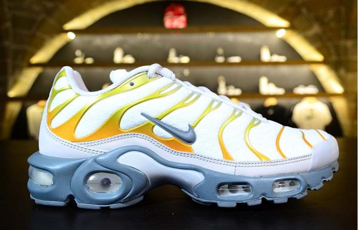 Nike TN Air Max Plus White Golden CI3715-100 02