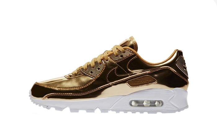 Nike Womens Air Max 90 SP Metalic Gold CQ6639-700 01