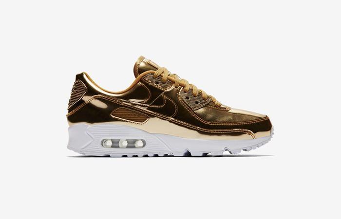 Nike Womens Air Max 90 SP Metalic Gold CQ6639-700 03