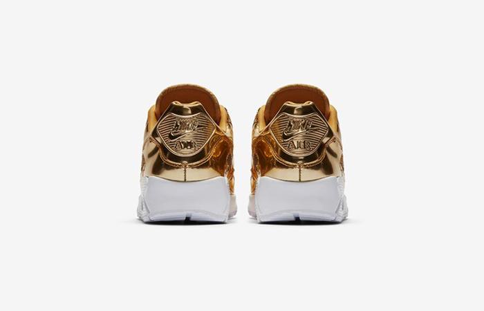Nike Womens Air Max 90 SP Metalic Gold CQ6639-700 05