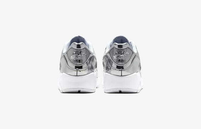 Nike Womens Air Max 90 SP Metalic Silver CQ6639-001 05