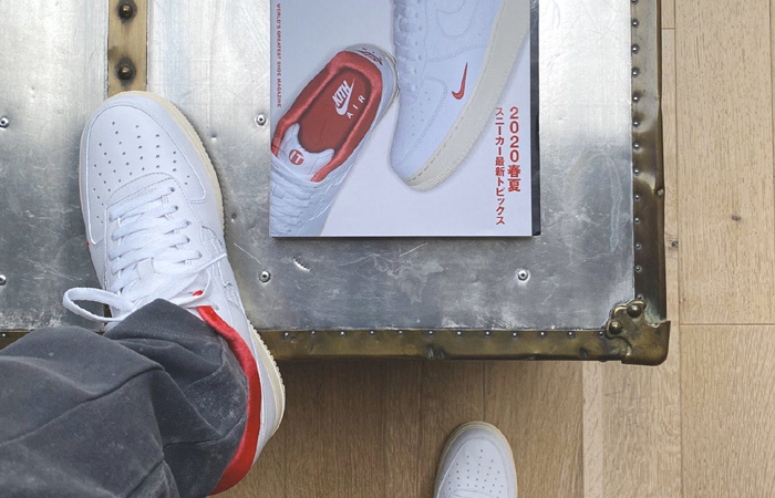 Ronnie Fieg Unveiled Another KITH Nike Air Force 1 ft
