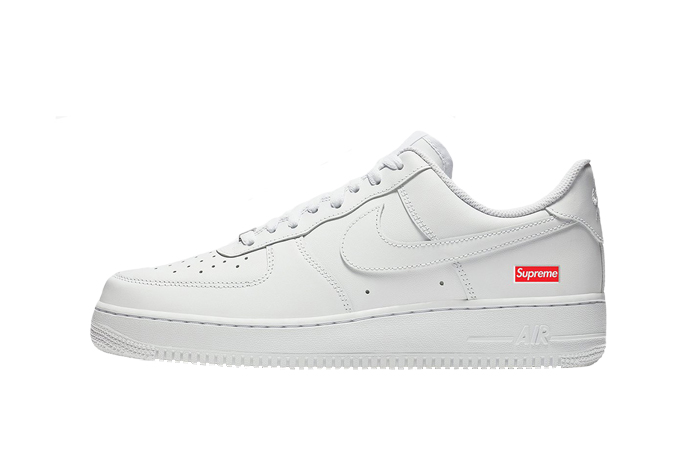 Nike Air Force 1 Low Supreme White CU9225 100 Restocks