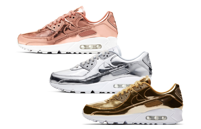 The Air Max 90 Metallic Pack Is The Top Release Of This Week! ft