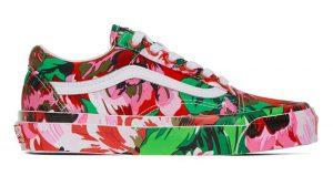 The Kenzo Vans Old Skool Experiences Floral Painting! 01