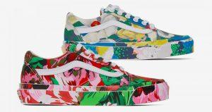 The Kenzo Vans Old Skool Experiences Floral Painting!