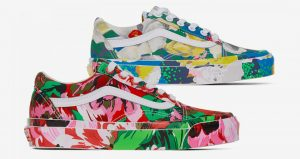 The Kenzo Vans Old Skool Experiences Floral Painting!