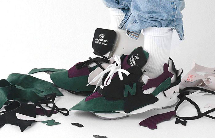 The New Balance Made In US 998 Dressed Up In A Stunning Messy look ft