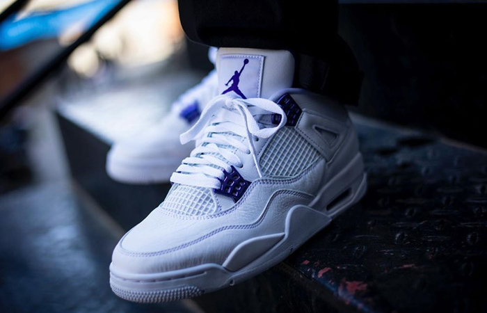 The Nike Air Jordan 4 Court Purple Release Date Is So Closer ft