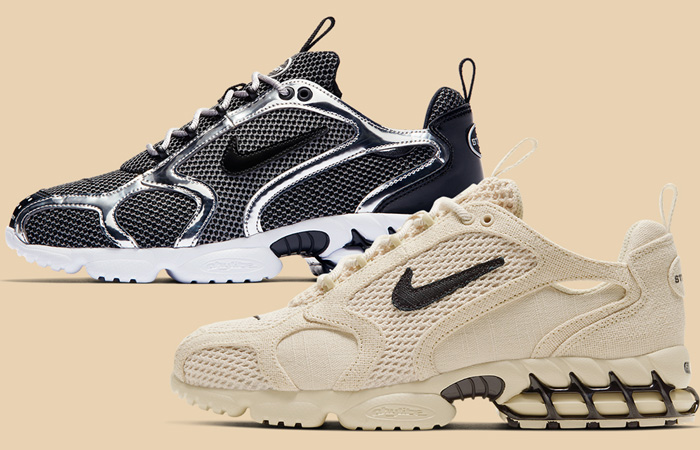The Stüssy Nike Air Zoom Spiridon 2 Caged Set To Drop Soon! ft