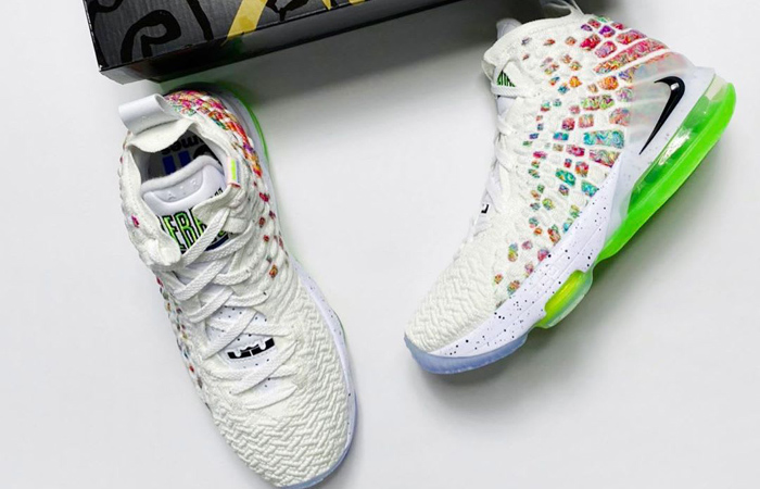 The Upcoming LeBron 17 Is Urged By the Nike Air Command Force ft