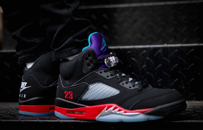 "These On Feet Look Of Air Jordan 5 ""Top 3"" Will Melt Your Heart Definitely! ft"