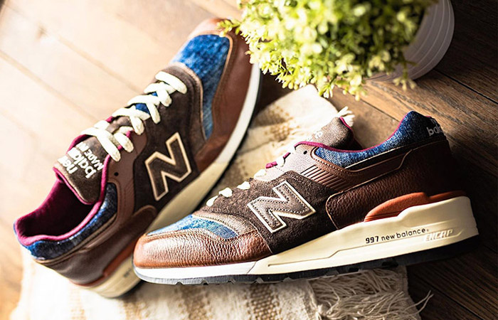 Up Close To The New Balance 997 Brown Leather ft
