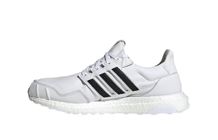 adidas UltraBOOST DNA Leather Black White EH1210 01