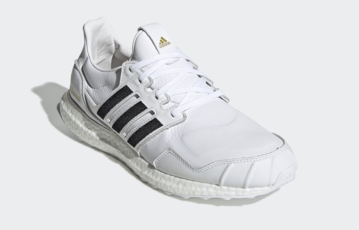 adidas UltraBOOST DNA Leather Black White EH1210 02