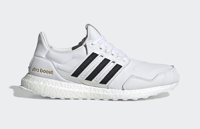 adidas UltraBOOST DNA Leather Black White EH1210 03