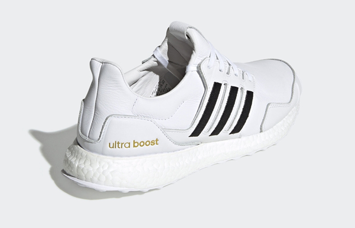 adidas UltraBOOST DNA Leather Black White EH1210 05