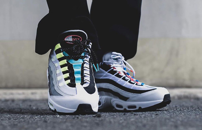 A Detailed Look At The Nike Air Max 95 Greedy! ft