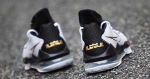 A Detailed Look At The Nike LeBron 17 Low Metallic Black Gold 03