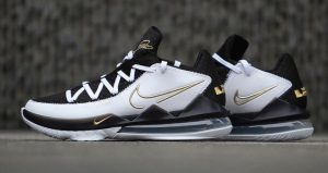 A Detailed Look At The Nike LeBron 17 Low Metallic Black Gold