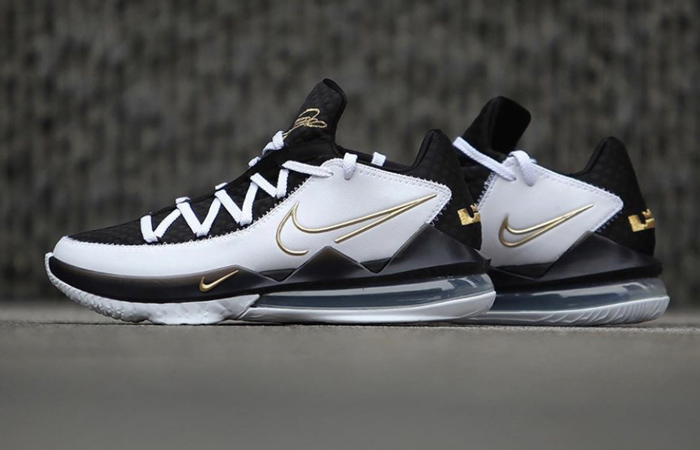 A Detailed Look At The Nike LeBron 17 Low Metallic Black Gold ft
