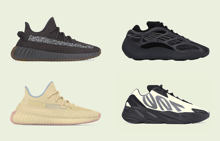 A Short List Of Yeezys That Are Releasing This April! ft