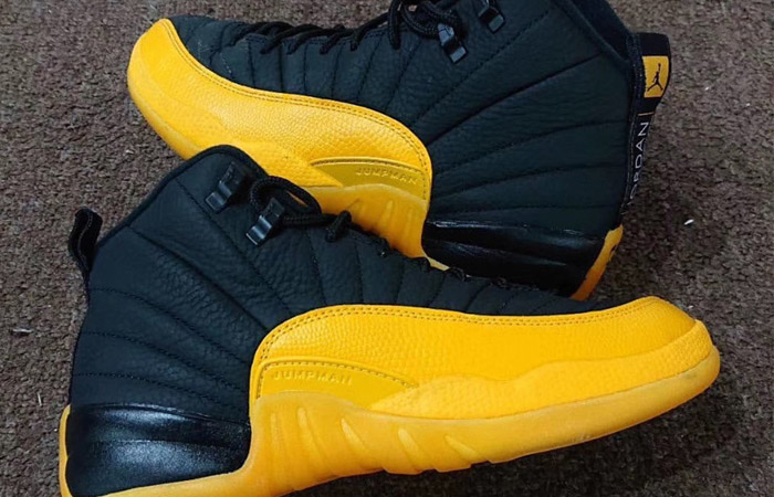Closer Look At The Air Jordan 12 Retro Black University Gold ft
