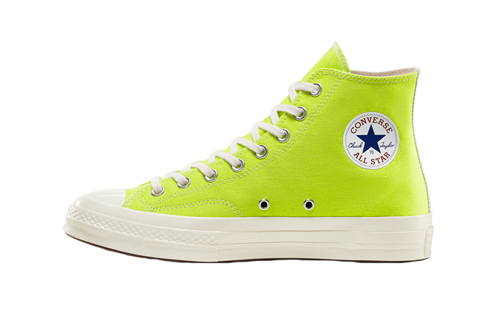 Comme des Garcons Play Converse Chuck Taylor All Star 70 High Lime 01