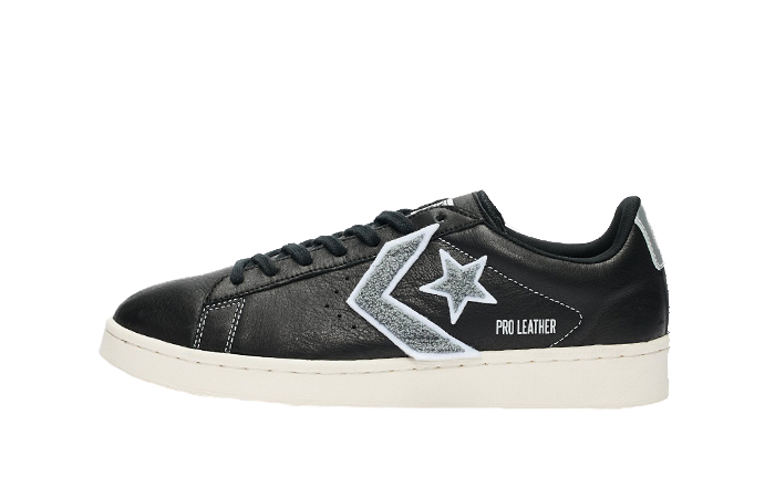 Converse Pro Leather Ox Black Grey 167268C 01
