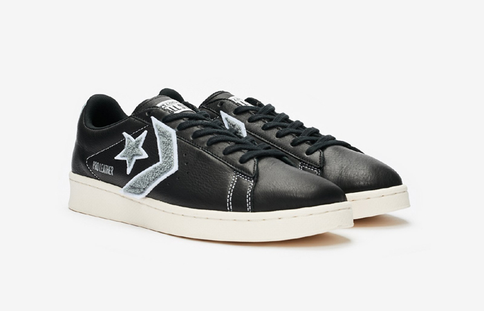 Converse Pro Leather Ox Black Grey 167268C 02
