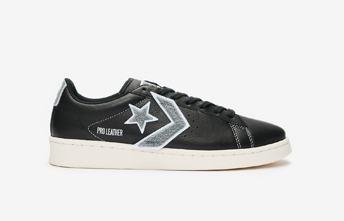 Converse Pro Leather Ox Black Grey 167268C 03