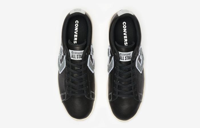 Converse Pro Leather Ox Black Grey 167268C 04