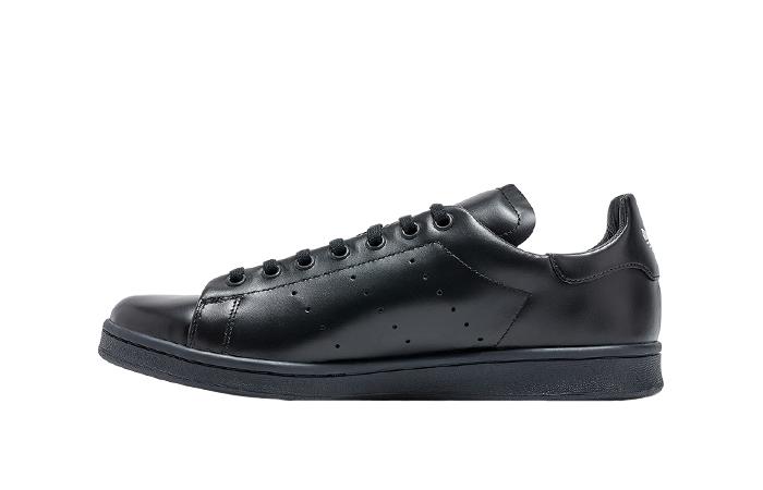 Dover Street Market adidas Stan Smith Triple Black 01