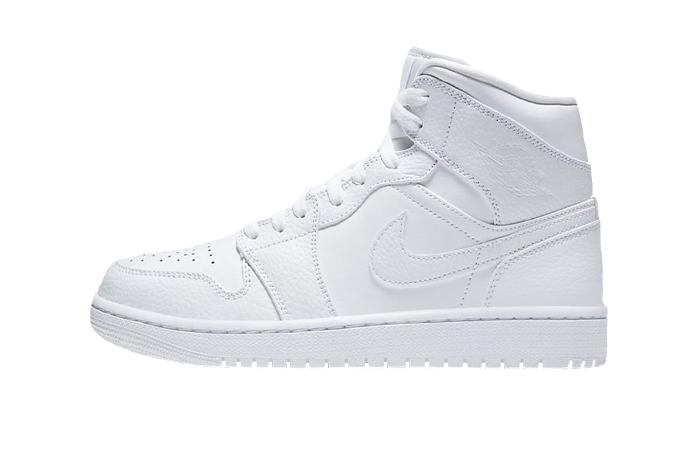 Jordan 1 Mid Chalk White 554724-130 01