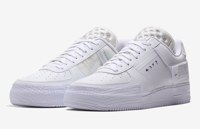 Nike Air Force 1 Type Chalk White CQ2344-101 02