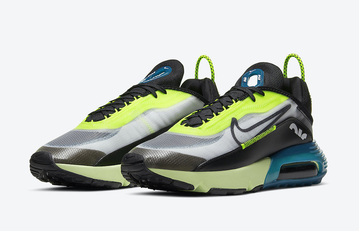 Nike Air Max 2090 Blue Lime Volt BV9977-101 04
